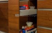 Kuchnia: cargo podblatowe Blum Tandembox Antaro szare 1