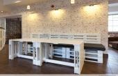 Meble z Palet: loże restauracyjne 2