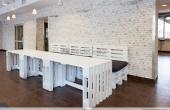 Meble z Palet: loże restauracyjne 3